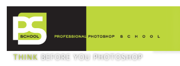 Logo di PROFESSIONAL PHOTOSHOP SCHOOL - THINK BEFORE YOU PHOTOSHOP