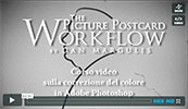 IL TRAILER DEL VIDEO CORSO SUL PICTURE POSTCARD WORKFLOW